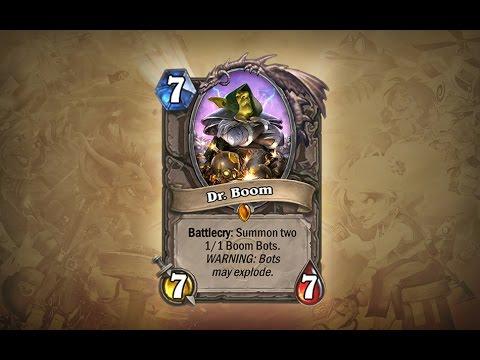 Hearthstone CZ Karta Dr.Boom