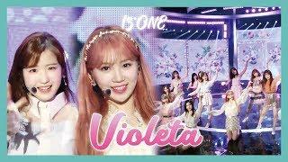 [HOT] IZ*ONE  - Violeta ,  아이즈원 - 비올레타 Show Music   Core 20190413