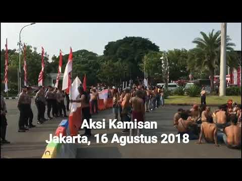 Aksi Kamisan Karyawan korban PHK dan Furlough oleh PT Freeport Indonesia