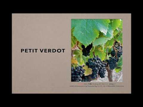 Winecast: Petit Verdot