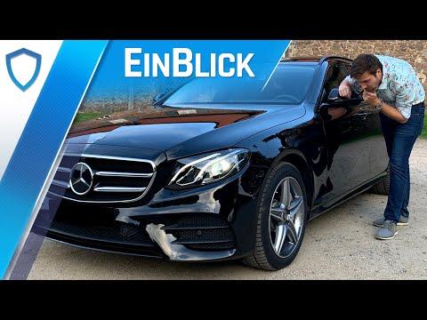 Mercedes E300de T-Modell (2019) - Als Hybrid der optimale Dienstwagen?