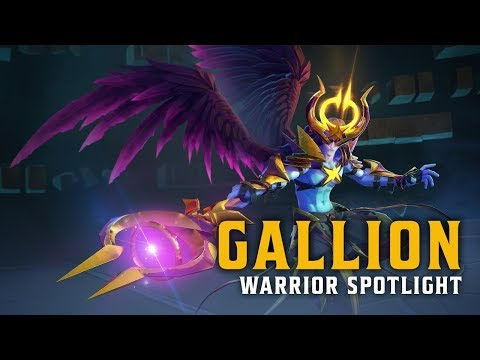 New Warrior Spotlight - Gallion