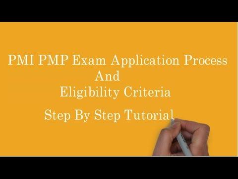 1. PMI PMP Exam application process | PMP exam eligibility criteria ...