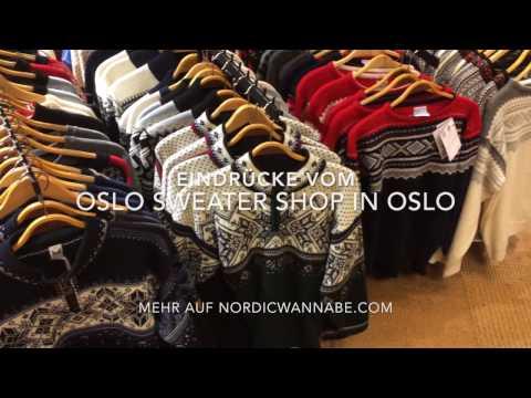 Oslo Sweatershop - Souvenirs - Norwegerpullover, Elche, Trolle (2017, HD)