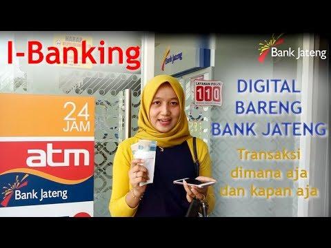 DIGITAL BARENG BANK JATENG dengan I-Banking Bank Jateng (Lomba Vlog) #hut56bankjateng