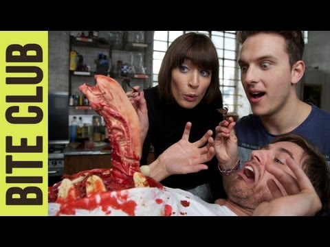 Chestburster Cake and Edible Alien Eggs | BITE CLUB – Alien (1979)