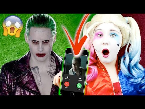 CALLING THE JOKER ON FACETIME!!
