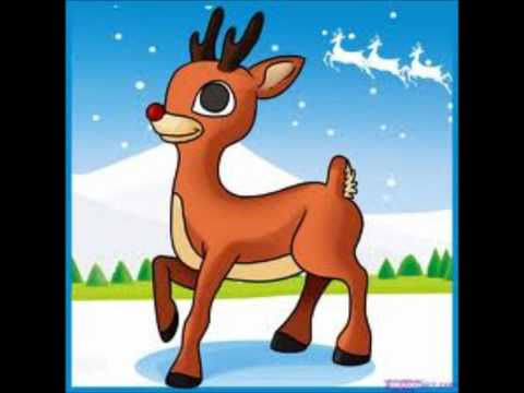Rudolf the red nose rendeer