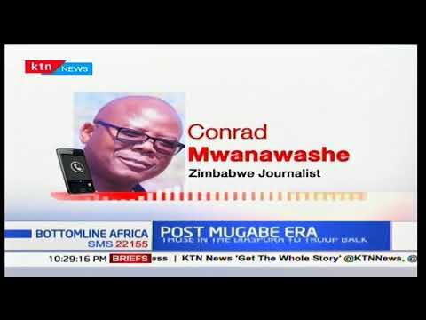 Post Mugabe era as political leaders exiled return to Zimbabwe: Bottomline Africa