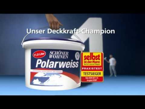 sch ner wohnen polarweiss 10 liter ab 46 95 bestellen. Black Bedroom Furniture Sets. Home Design Ideas