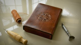 Making A Leather Travel Journal / Watercolour Sketchbook Set