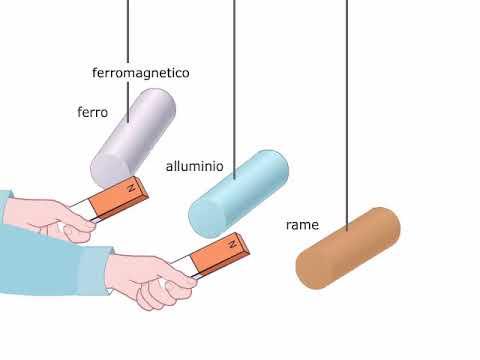 TEORIA Sostanze ferromagnetiche diamagnetiche e paramagnetiche AMALDI ZANICHELLI