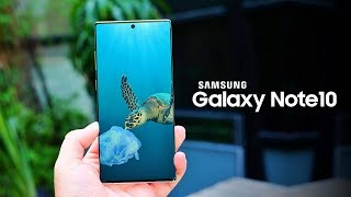 Samsung Galaxy Note 10 - TOP 10 FEATURES