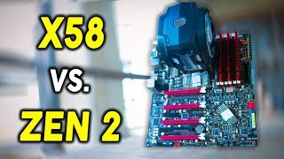 Download X58 Vs  Ryzen 5 3600 / i5-9400F - Can the 6 Core