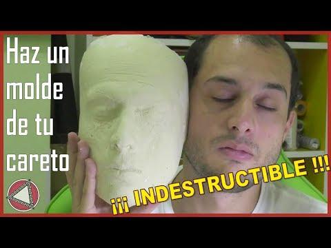 👺 Cómo hacer un MOLDE de tu CARA👹 irrompible # DIY Tutorial