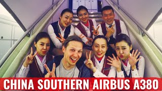 Review: China Southern Airlines Airbus A380 Business Class
