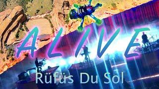 RÜFÜS DU SOL - Alive   Red Rocks Amphitheater   FPV Race Drone   2021