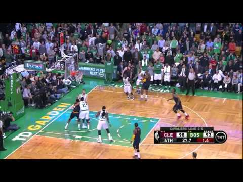 NBA, Playoff 2015, Cavaliers Vs. Celtics, Round 1, Game 3, Move 62, Kevin Love, 3 Pointer