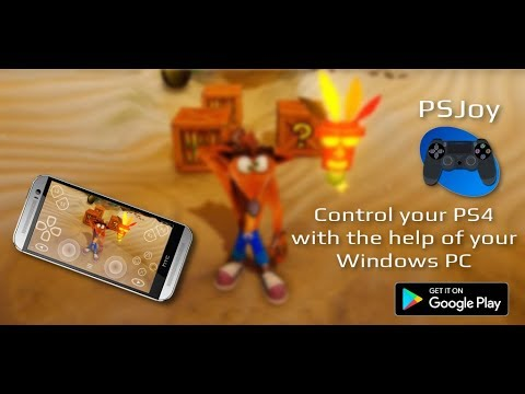 PSJoy: PC Remote Play Spy for PS4 - Android app on AppBrain