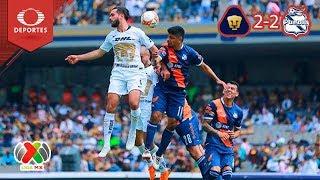 Puebla Logra El Empate En CU | Pumas 2 - 2 Puebla | Apertura 2018 - Jornada 11 | Televisa Deportes
