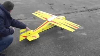 homelite 25CC engine in homemade RC plane