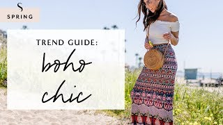 How To Dress Boho Chic For Spring 2019 I Sydne Summer