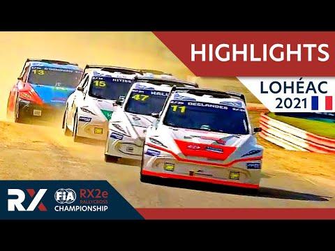 電動ラリークロス フランス( エアロック)2021年 RX2eクラスの予選ハイライト動画