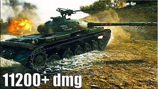 АГРЕССИВНАЯ ИГРА на Объекте 140 🌟 11200+ dmg 🌟 World of Tanks лучший бой ст 10 уровня