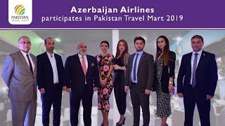 Azerbaijan Airlines participates in Pakistan Travel Mart 2019