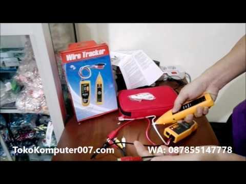Tester Pelacak Kabel Putus, LAN, Cable Scanner