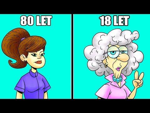 Režim péče o pleť proti stárnutí
