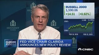The Fed is telling us now they will be accomadative going forward: David Ellison