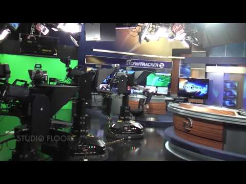 Explore a professional news station tour at KTVU (Bay Area Channel 2 News)