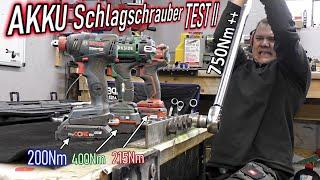 Akku Schlagschrauber TEST 2  --Sieger 2021 gesucht--