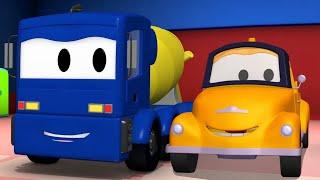 Odtahové auto pro děti - Míchač na cement Kryštof Odtahové auto Tom ve Městě Aut