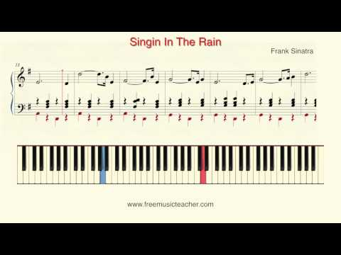 "How To Play Piano: Frank Sinatra ""Singin In The Rain"" Piano Tutorial by Ramin Yousefi"