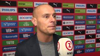 PSV - Ajax vrouwen: trainer Rick de Rooij