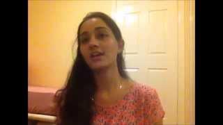"Video thumbnail of ""Lag Ja Gale Cover - By Ankita Sachdev"""