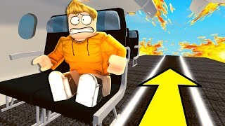 This Roblox PLANE CRASH STORY doesn't end well..