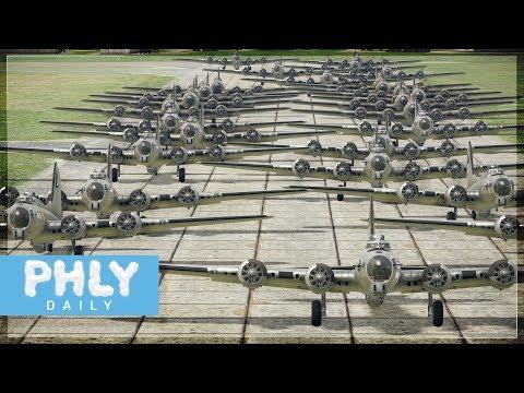 戰爭雷霆 B 17 地毯式轟炸