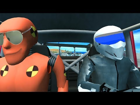 BeamNG Drive STIG against Angry POLICE Crashes Chases