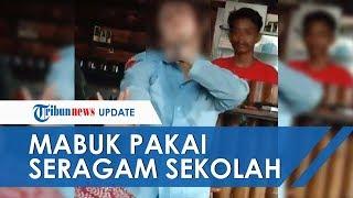 Viral Siswi SMA di Mojokerto Mabuk saat Kenakan Seragam Sekolah, Menangis dan Sesali Perbuatannya