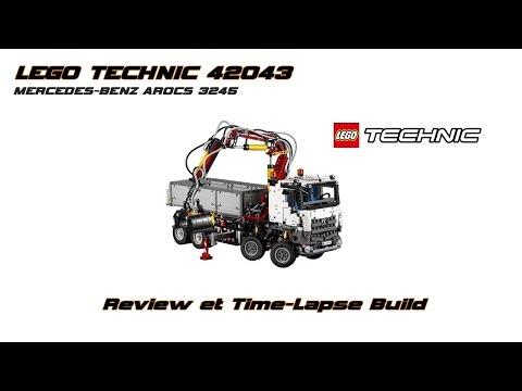 Vidéo LEGO Technic 42043 : Mercedes-Benz Arocs 3245