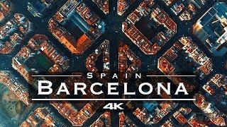 Barcelona, Spain 🇪🇸 - By Drone [4K]