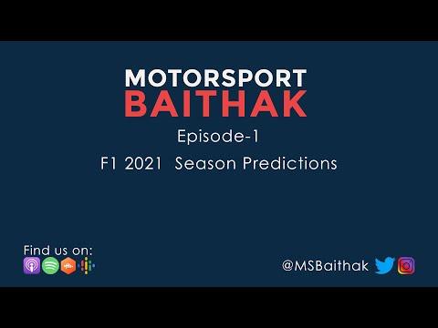 F1 2021 Season Predictions | MSBaithak S1 E1