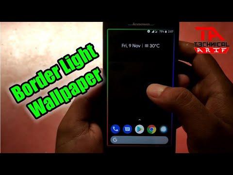Border Light Effect For Any Android | Borderlight - Edge
