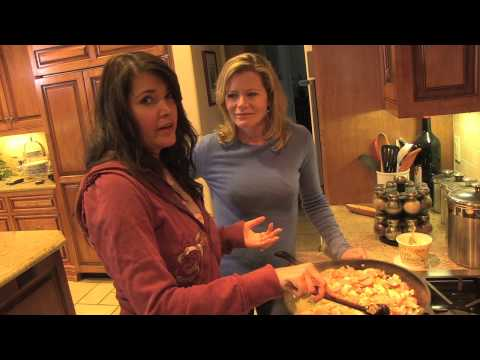 Sheree Cooking with Devin