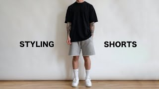 Styling Shorts This Summer | Mens Fashion 2020