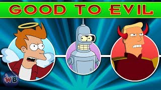 Futurama Characters: Good to Evil