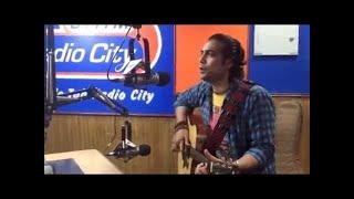 Jubin Nautiyal   Zindagi Kuch Toh Bata   Live In Acoustics @RadioCIty 91.1 FM.   Bajrangi Bhaijaan .